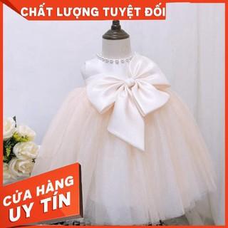 [ FREESHIP + TẶNG KÈM NƠ CÀI TÓC] Đầm công chúa Evelyn Mã N001 thời trang cho bé gái 0-9 tuổi mặc dự tiệc sinh nhật