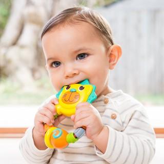 [Hot] [Nhập mã TOYJULY giảm 10% tối đa 20K đơn từ 99K]Chú hổ xúc xắc gặm nướu BPA Free Infantino 216274