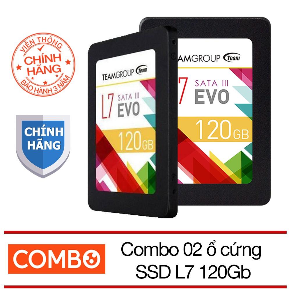 Bộ 2 ổ cứng SSD 120GB Team L7 EVO Sata III - Hãng phân phối chính thức - 2712962 , 988988893 , 322_988988893 , 1449000 , Bo-2-o-cung-SSD-120GB-Team-L7-EVO-Sata-III-Hang-phan-phoi-chinh-thuc-322_988988893 , shopee.vn , Bộ 2 ổ cứng SSD 120GB Team L7 EVO Sata III - Hãng phân phối chính thức