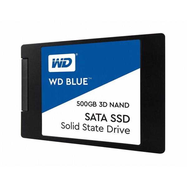 Ổ Cứng SSD WD Blue 3D NAND 500GB WDS500G2B0A (2.5 inch) - Hàng Chính Hãng (BH 5 năm)