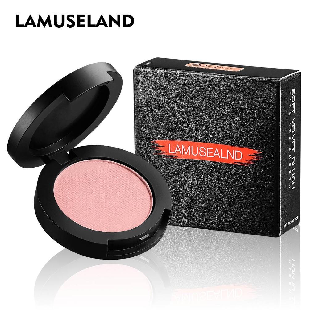 Phấn má hồng LAMUSELAND LA31 cho lớp trang điểm tự nhiên 3.5g