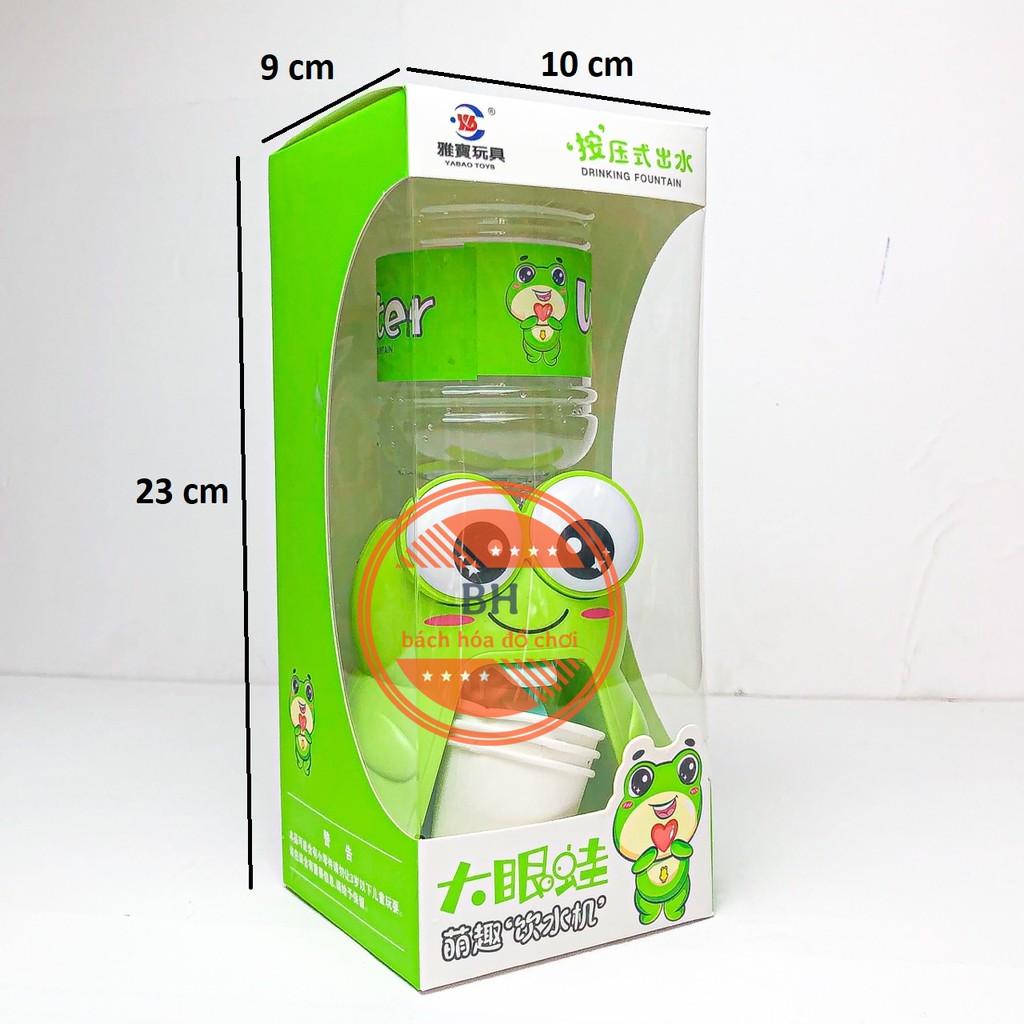 bình nước cho bé 💖𝑭𝑹𝑬𝑬𝑺𝑯𝑰𝑷💖 Đồ chơi máy rót nước mini siêu dễ thương hình con ếch