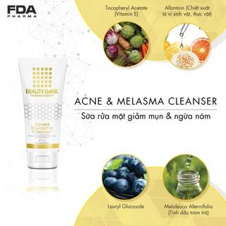 BEAUTY BANK Acne & Melasma Cleanser SỮA RỬA MẶT GIẢM MỤN VÀ MỜ NÁM thumbnail