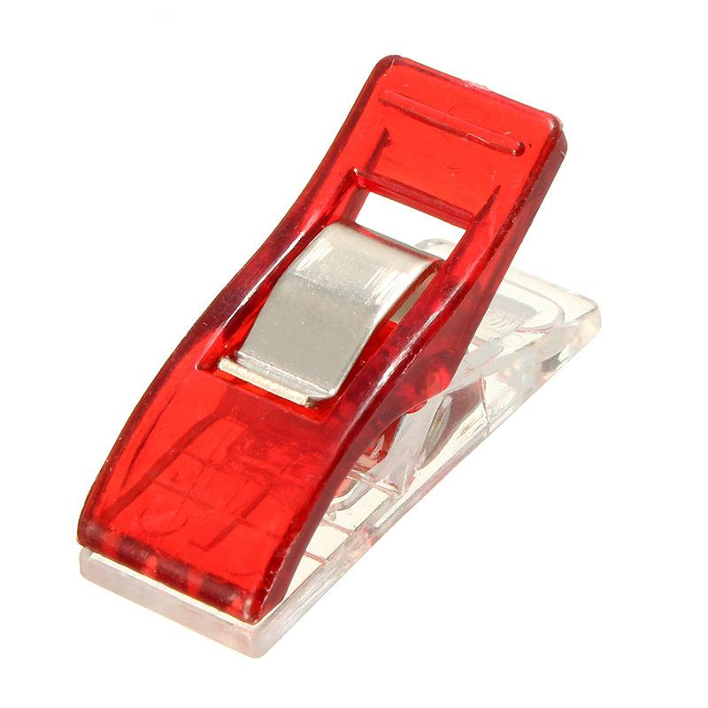 BB@50Pcs Plastic Wonder Clips Holder DIY Patchwork Quilting Craft Sewing Knitting