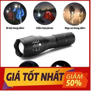 [HÀNG LOẠI XỊN] Đèn pin siêu sáng bóng led xml t6 police bin mini cầm tay chống nước tự vệ chuyên dụng [ full box ] .