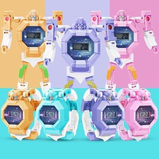Đồng Hồ Đeo Tay Hình Robot Trong Transformer Cho Bé thumbnail