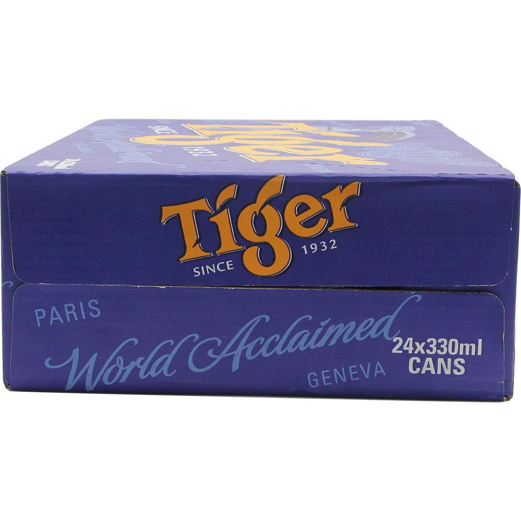 [Mã 157FMCGSALE giảm 8% đơn 500K] Thùng 24 Lon Bia Tiger 330ml