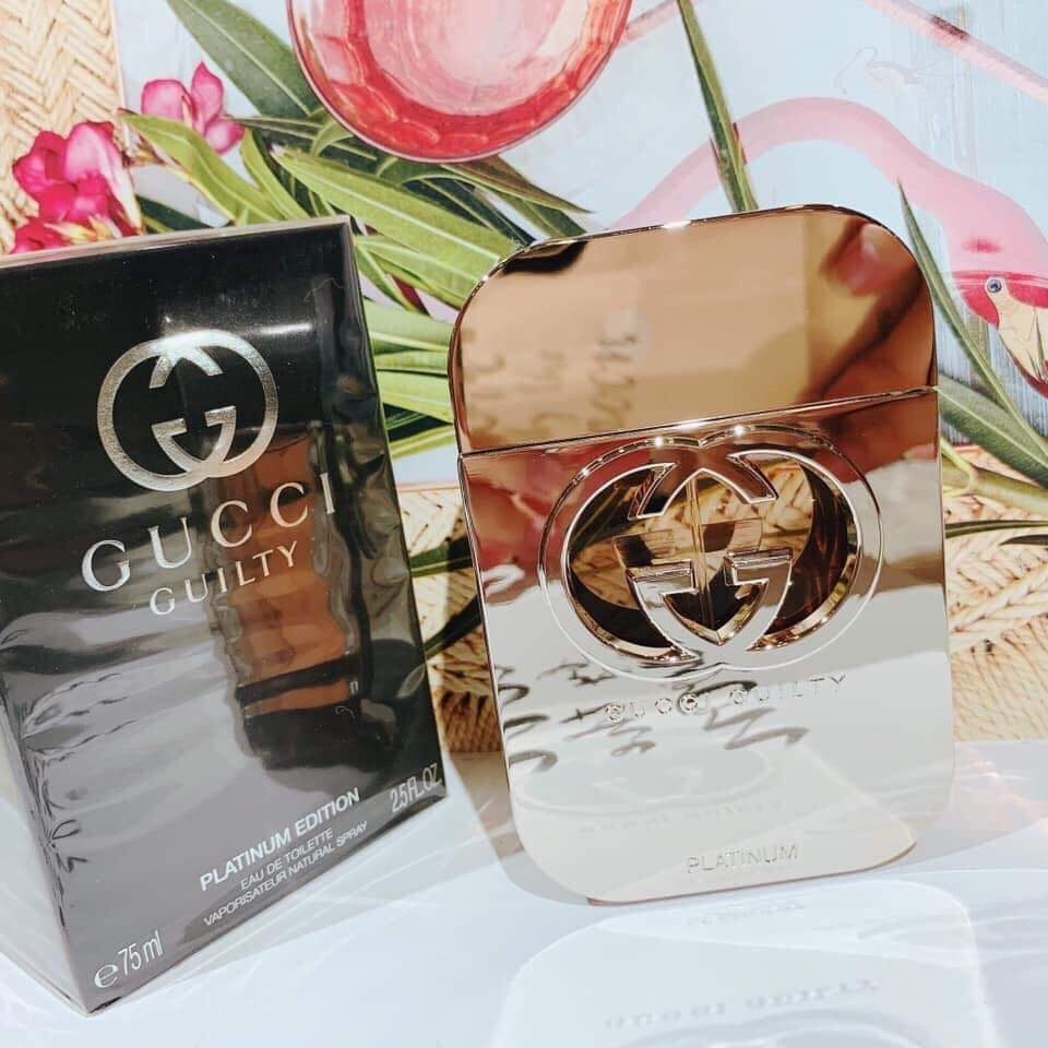 Nước hoa GUCCI - Gucci Guilty Platinum Edition for women EDT 75ml | Shopee  Việt Nam