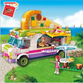 Mô Hình Xe bán bánh Pizza di động Cho Các Bé mã 2013