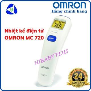 Nhiệt kế điện tử đo trán OMRON MC 720 chính hãng - bảo hành 2 năm