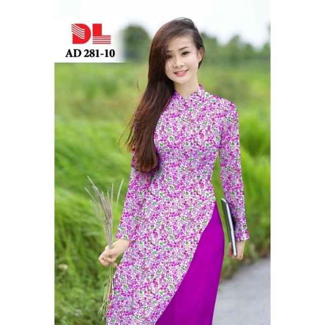 Vải áo dài hoa nhí - 3025543 , 555155713 , 322_555155713 , 230000 , Vai-ao-dai-hoa-nhi-322_555155713 , shopee.vn , Vải áo dài hoa nhí