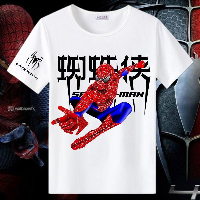 Áo thun nam tay ngắn in hình biệt đội siêu anh hùng Marvel