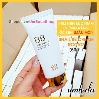 Kem nền chống nắng SNAIL BB Cream ECOTOP (50ml)