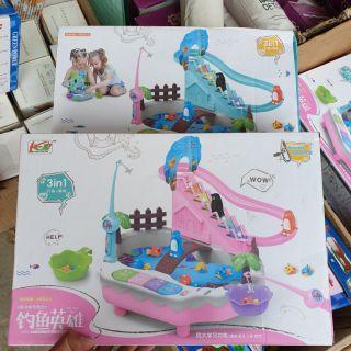 Bộ đồ chơi câu cá 2 in 1 cho bé ( có video )