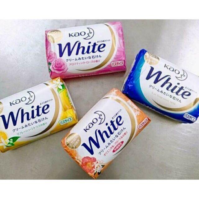 Xà phòng tắm rửa Kao White Nhậ