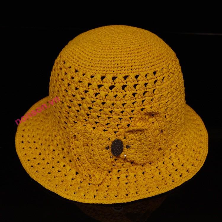 Nón Sơn mũ đan tay DH082-CM2