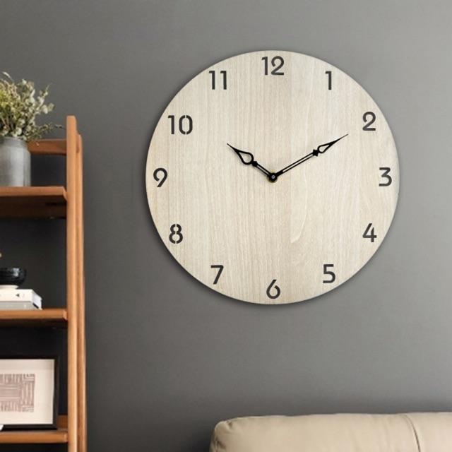 [Giá Sốc] Đồng hồ Gỗ treo tường độc đáo SB028 thiết kế mới