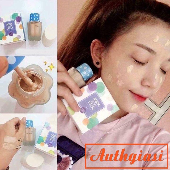 Kem nền dạng thạch Holika Aqua Petit Jelly BB Cream kiềm dầu tốt và che phủ hoàn hảo 40ml