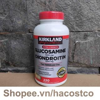 Viên uống GLUCOSAMINE 1500mg và CHONDROITIN 1200mg