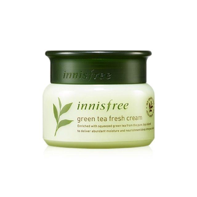 Kem dưỡng da Innisfree Green Tea FRESH Cream - 3534655 , 987572399 , 322_987572399 , 360000 , Kem-duong-da-Innisfree-Green-Tea-FRESH-Cream-322_987572399 , shopee.vn , Kem dưỡng da Innisfree Green Tea FRESH Cream