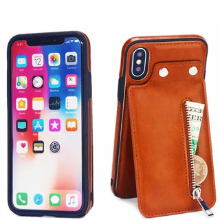 Bao da iphone X, Xs, Xs Max, Xr có ví kéo rất tiện lợi