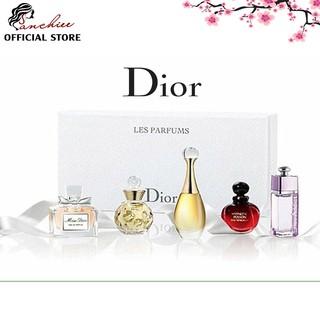 Bộ nước hoa mini nước hoa Dior Les Parfums 5 chai .hương thơm dịu nhẹ đầy lôi cuốn, giúp bạn trở nên quyến rũ thumbnail