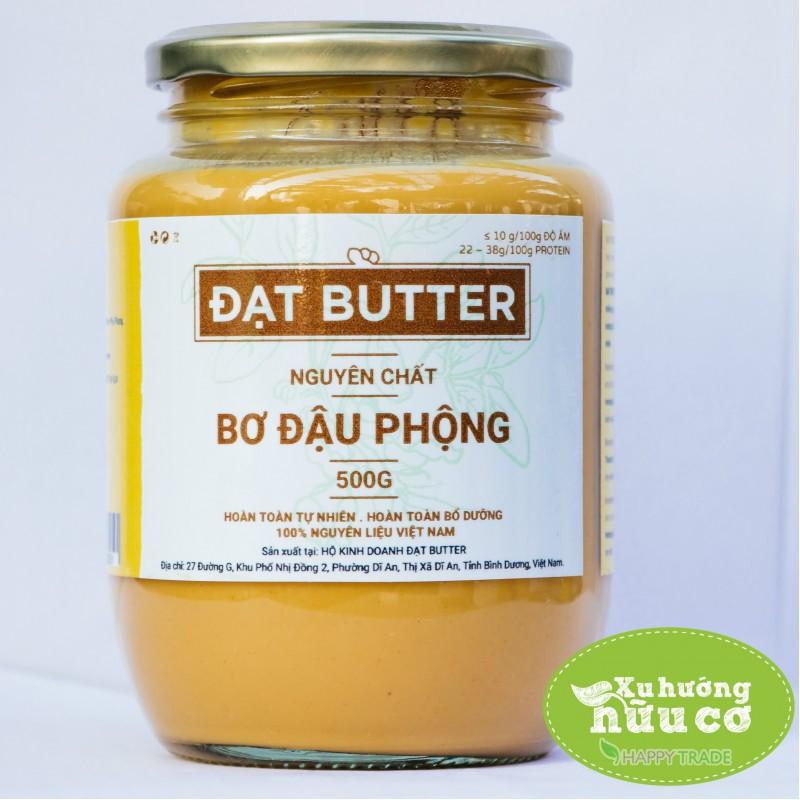Bơ đậu phộng nguyên chất hữu cơ xay mịn Đạt Butter (500g) - 3153468 , 1058835030 , 322_1058835030 , 210000 , Bo-dau-phong-nguyen-chat-huu-co-xay-min-Dat-Butter-500g-322_1058835030 , shopee.vn , Bơ đậu phộng nguyên chất hữu cơ xay mịn Đạt Butter (500g)