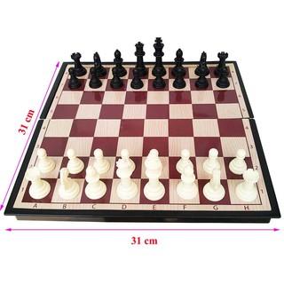 Bộ cờ vua quốc tế có nam châm SATO 041