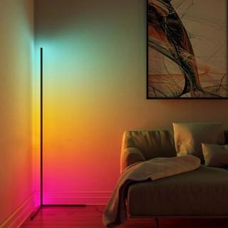 Đèn Led đứng góc tường RGB 2021 trang trí phòng khách, phòng ngủ, phòng game, điều khiển qua App Glowup Corner L01