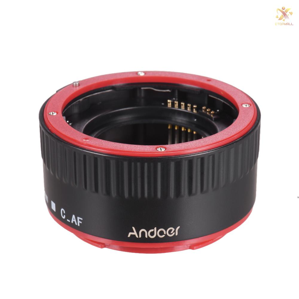 Ống Kính Lấy Nét Tự Động Andoer (13Mm + 21mm + 31m) Cho Eos Ef-S 60d 7d 5d Ii 550d