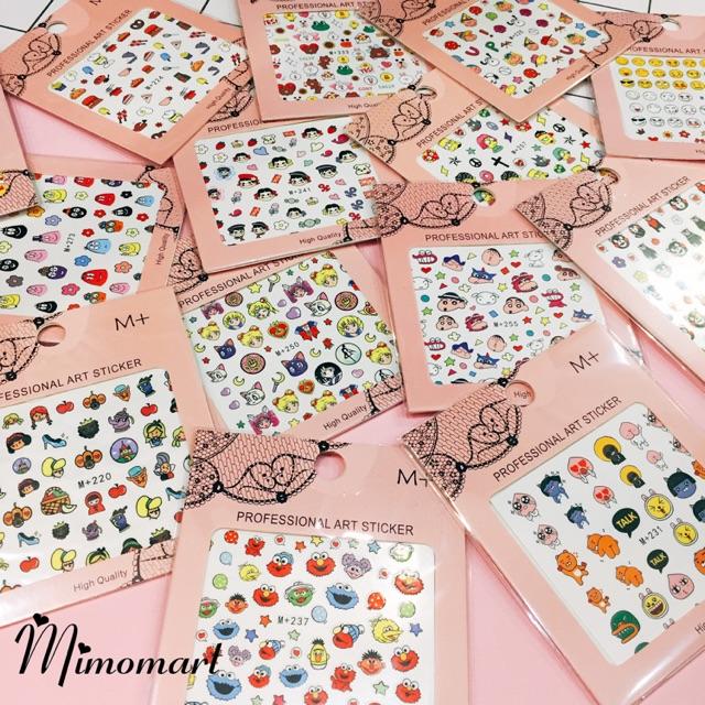 Nail sticker dán móng tay cute (nhiều mẫu) - 9967491 , 612266150 , 322_612266150 , 10000 , Nail-sticker-dan-mong-tay-cute-nhieu-mau-322_612266150 , shopee.vn , Nail sticker dán móng tay cute (nhiều mẫu)