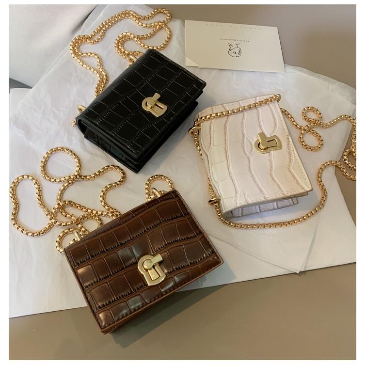 Túi đeo chéo mini thời trang, dễ thương, sành điệu, hàng nhập quảng châu GL56