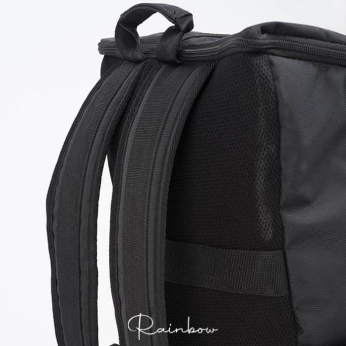 Balo nam đi phượt phối da canvas Rainbow BALO001, có ngăn đựng laptop đa năng tiện lợi