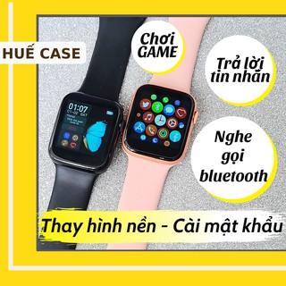 Đồng hồ thông minh chơi game [ Huế Case ] Smart watch thời trang nam và nữ thay ảnh nền, nghe gọi qua bluetooth