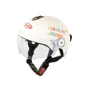 Mũ Bảo Hiểm Trẻ Em Nửa Đầu Có Kính Andes 3S108SK-Tem Bóng-S83