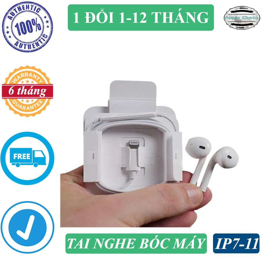 Tai nghe iPhone 11 bóc hộp, mới chưa sử dụng, cổng Lightning, BẢO HÀNH 1 ĐỔI 1 TRONG 12 THÁNG - 22983058 , 7708909365 , 322_7708909365 , 300000 , Tai-nghe-iPhone-11-boc-hop-moi-chua-su-dung-cong-Lightning-BAO-HANH-1-DOI-1-TRONG-12-THANG-322_7708909365 , shopee.vn , Tai nghe iPhone 11 bóc hộp, mới chưa sử dụng, cổng Lightning, BẢO HÀNH 1 ĐỔI 1 T