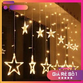 Đèn nháy thả mành dạng hình ngôi sao trang trí noel,năm mới và trang trí cây thông noel thêm lung linh.
