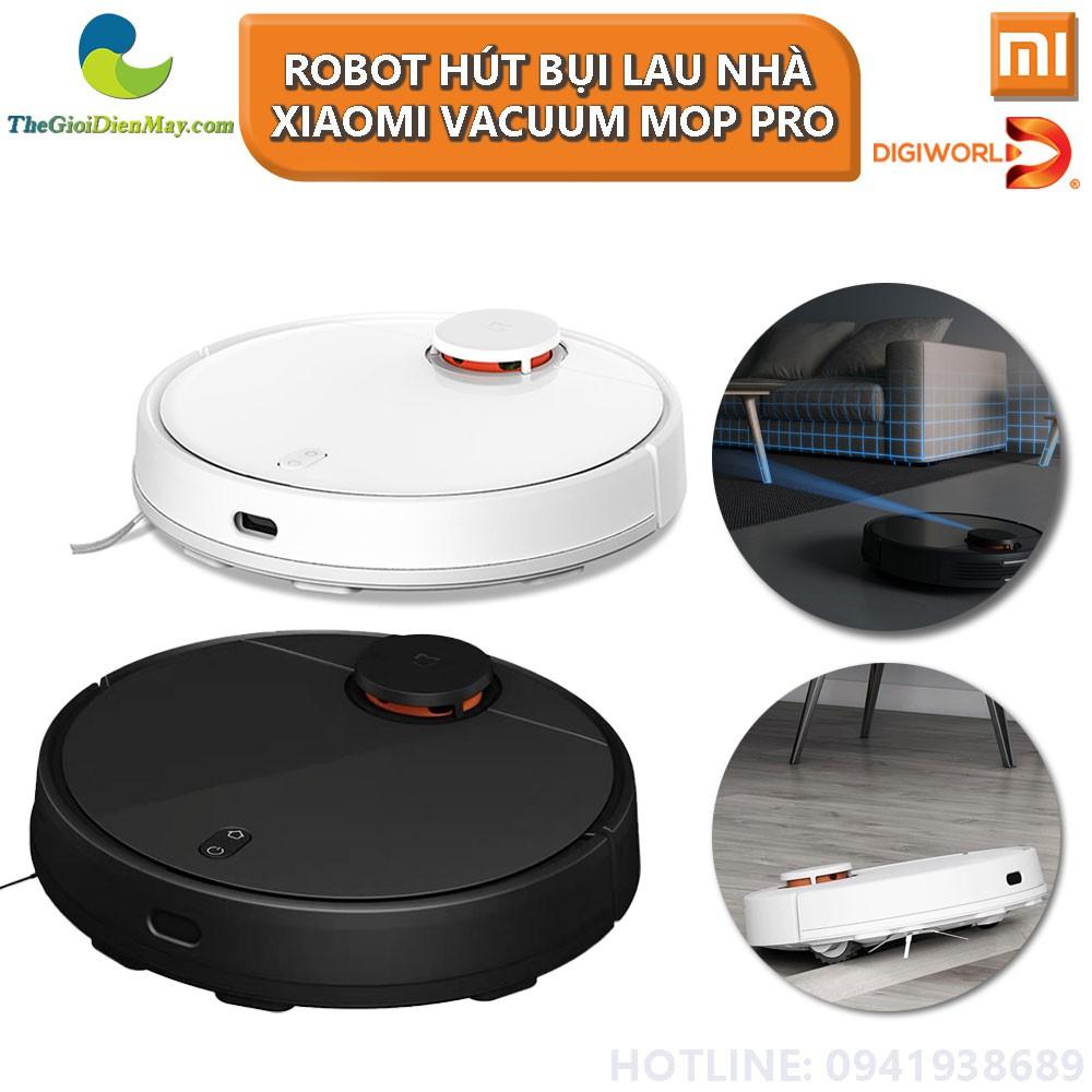 Bản Quốc Tế] Robot Hút Bụi Lau Nhà Thông Minh Xiaomi Vacuum-Mop Pro - Bảo  Hành 12 Tháng