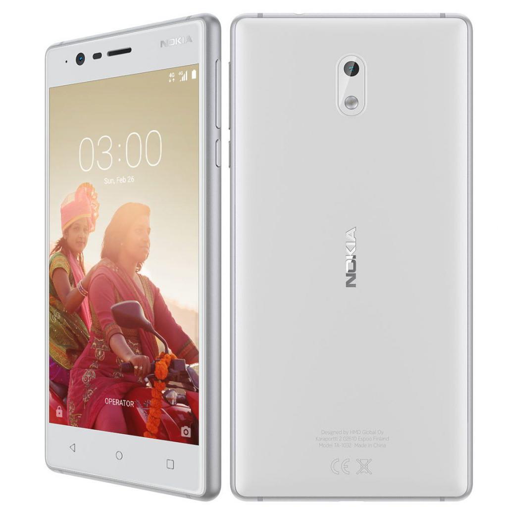 Điện thoại di động NOKIA 3 trắng - chính hãng