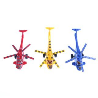 Plastic Air Bus Model Kids Children Pull Line helicopter Mini Plane Toy Gift 0 0 0 0 0