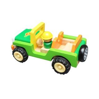 Đồ chơi gỗ Winwintoys - Xe Jeep Winwintoys 68302