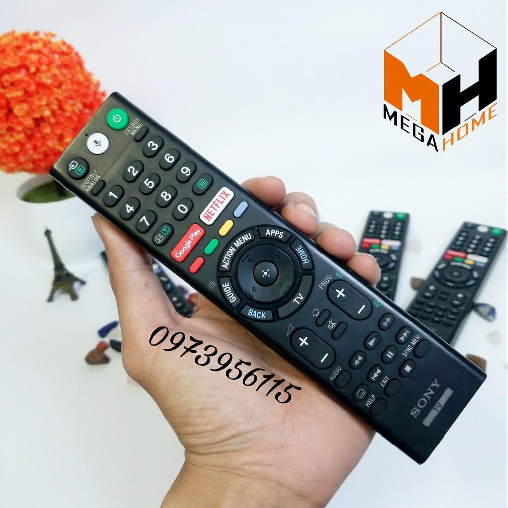 Điều khiển remote giọng nói tivi Sony smart RMF-TX300P (hàng xất kho bảo hành sony, new like ,số lượng hạn chế)