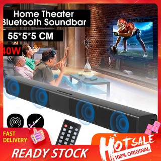 【Ready stock】 BS-28B Rechargeable Wireless Bluetooth Soundbar TV Home Theater Stereo Speaker