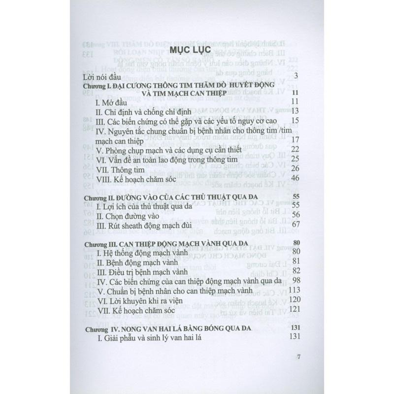 Sách - Điều Dưỡng Trong Tim Mạch Can Thiệp