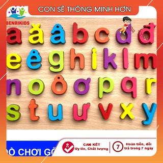 Bảng Chữ Cái Nổi Tiếng Việt In Thường Hàng Việt Nam Cho Bé NO