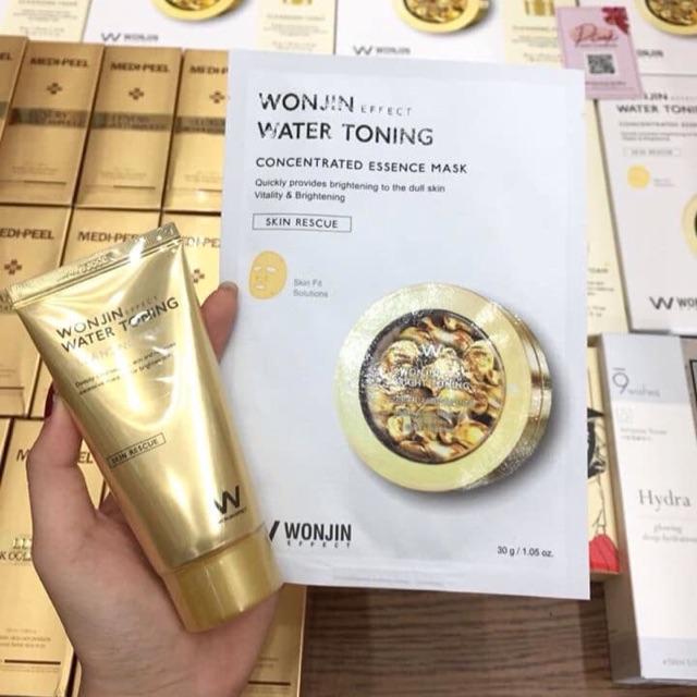Mặt nạ và serum Wonjin Effect Water Toning Mask 30g | Shopee Việt Nam