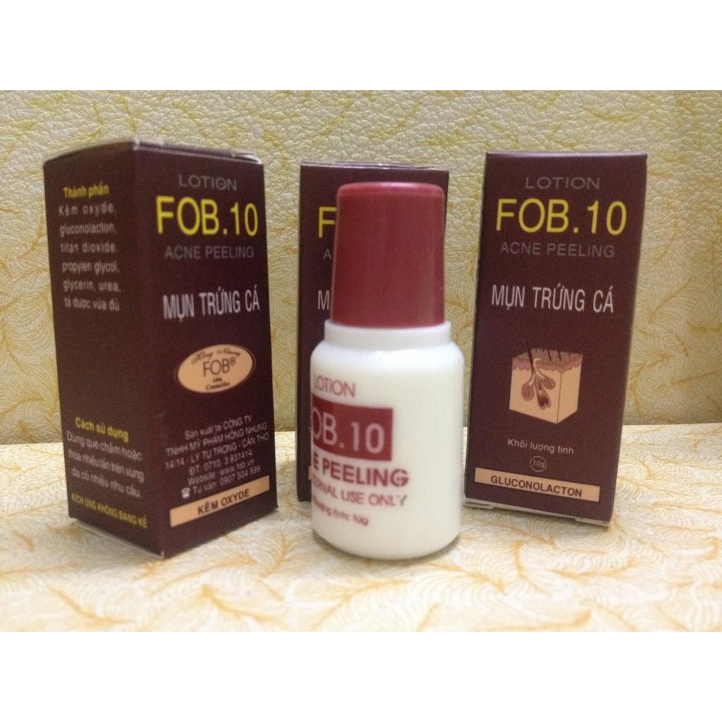 Kem trị mụn FOB 10