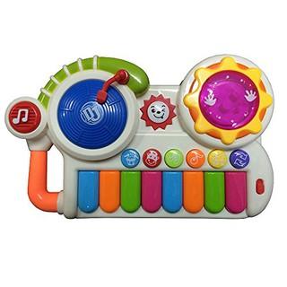 Đàn DJ hiệu ứng đèn và âm thanh sôi động cho bé