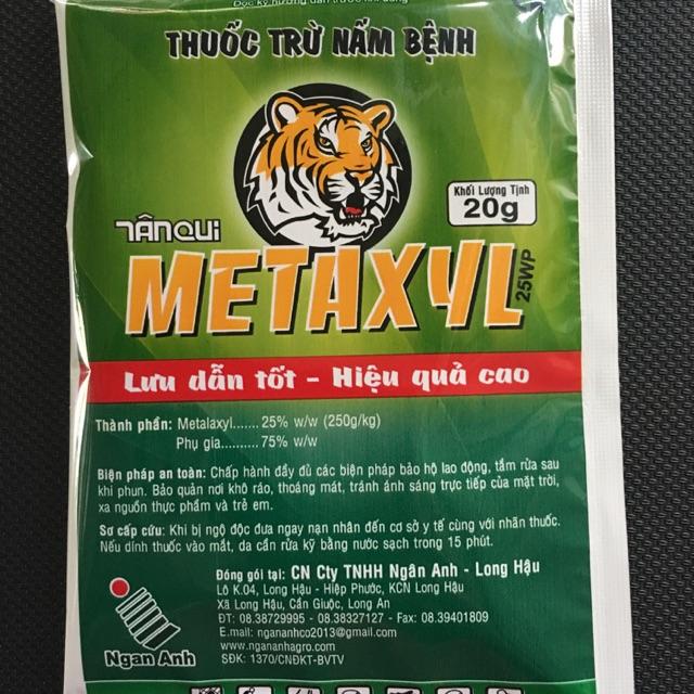 Thuốc trừ bệnh METAXYL 25WP