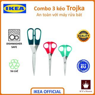 Combo 3 kéo Ikea Trojka nhiều màu nhiều kích cỡ